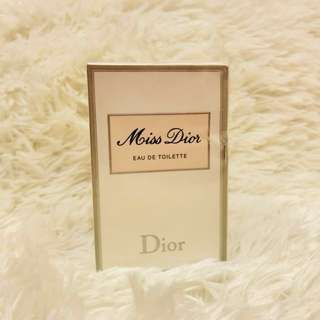 Miss Dior with Atomizer