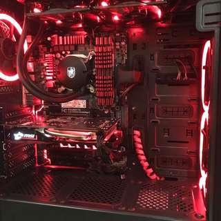High-End Gaming Deskop CPU + Gigabite Z97X-Gaming 3 + Intel(R) Core(TM) i5-4690K Processor + MSI Gaming X Nvidia GeForce 1050Ti 4GB + 16GB DDR3 RAM G.Skill X Series + Free MS Office