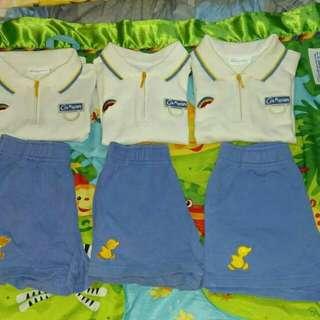 迦南幼稚園 夏季90碼運動服 男女合用