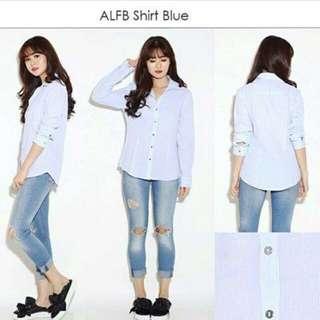 ALFANI SHIRT BLUE