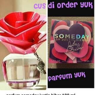 Someday justin bieber Parfume 100 ml