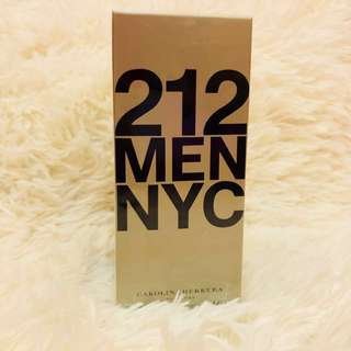 212 Men NYC with Atomizer
