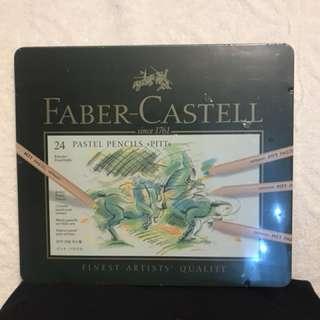 FABER-CASTELL 24 Pastel Pencils <PITT>