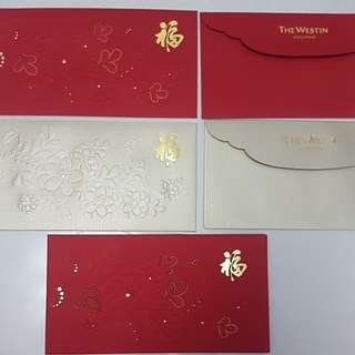 The Westin Singapore- Red Packet( 8 pcs in a pack)
