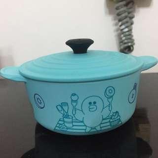7 eleven SALLY 圓形鍋眝物盒連蓋
