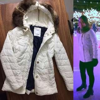 Nautica Winter coat with fur