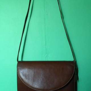 Sling bag authentic leather
