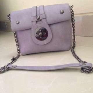 Sling bag purple