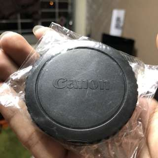 Canon DSLR body Caps