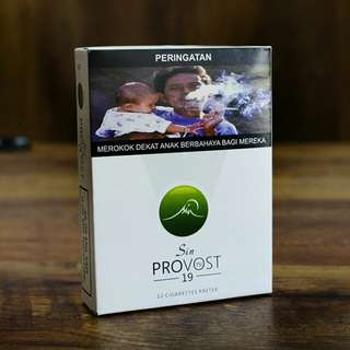 Provost Rokok Herbal SIN