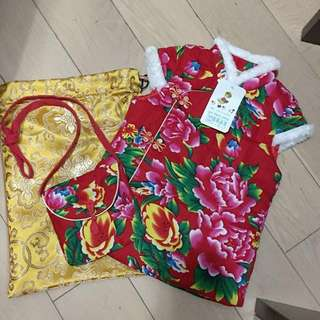 🈹bb新年衫連小袋(1-2歲)