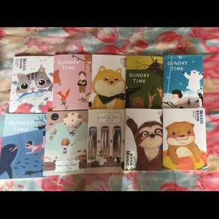 Cute notebooks A5
