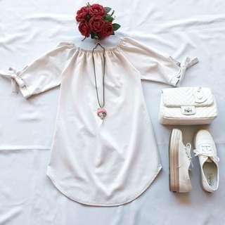White Tunic ( Long Tops )