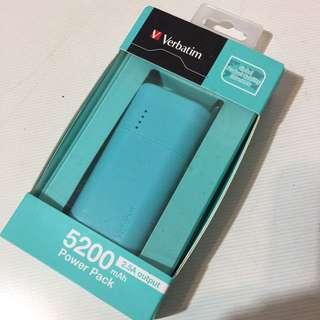 Verbatim 5200mAh Power Bank (Tiffany Blue) 流動充電