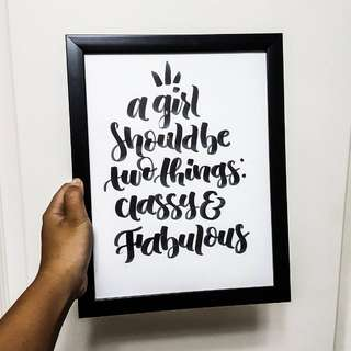 Digital and Handlettering Calligraphy Services