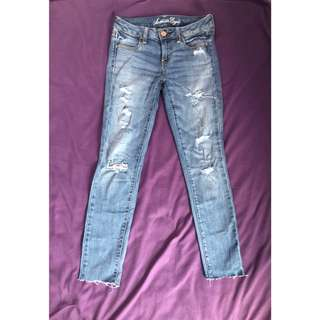 American Eagle Low Waist Jegging
