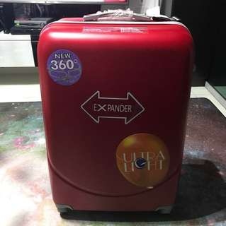 28 inch 4.16kg brand new Matted Red Luggage Bag