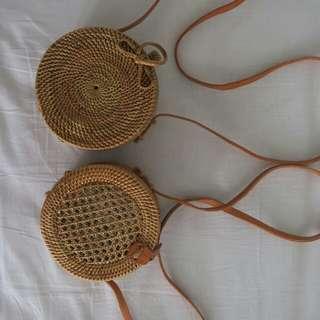 Rattan Bag 15cm