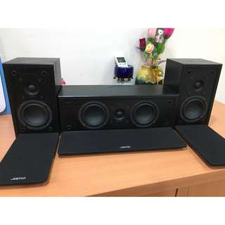 Jamo surround (free Jamo center speaker)