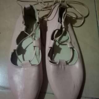 Flat shoes balerina