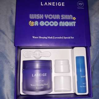 Laneige goodnight kit