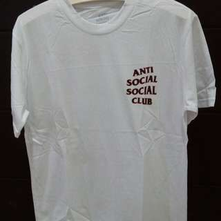 Anti social social club tee. Las piece sale. Premium branded tee.