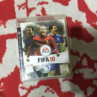 FIFA 10 PS3 game