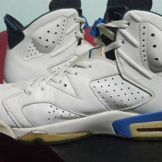 Air Jordan 6 Retro Sports Blue-Black