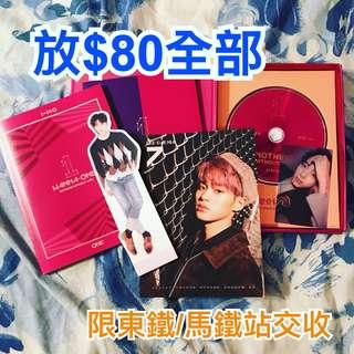 Wanna One 專輯 立牌 透卡 月曆卡