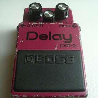 Vintage Boss DM-2 delay MIJ 1982