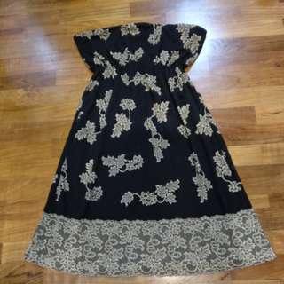 Lace Tube Dress