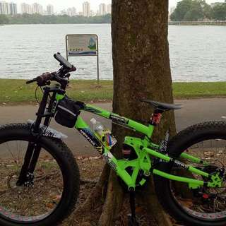FULLY customized fat bike