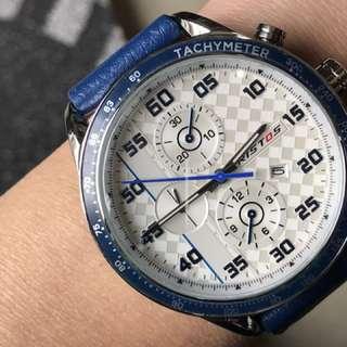 RISTOS 出口石英計時款手錶