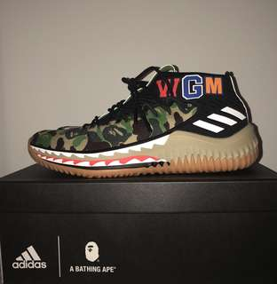 Adidas Dame 4 x Bape [ Green ]