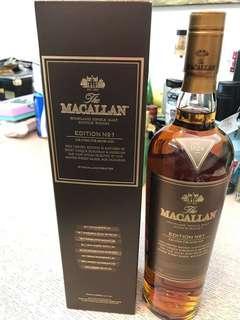 Macallan Ed. Number 1