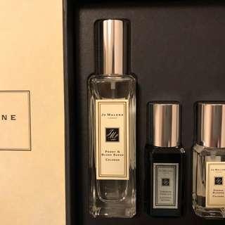 全新Jo Malone Peony & Blush Suede Fragrance Combining Trio