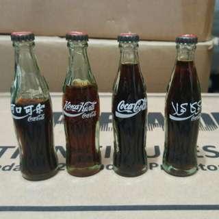 可口可樂 Coca-Cola 迷你樽 Set of 4