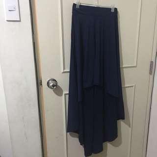 Semi maxi skirt