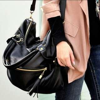 (PO) Women Tassel Handbag