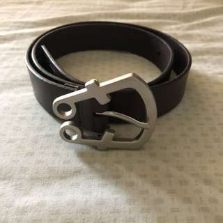 Girbaud brown leather belt
