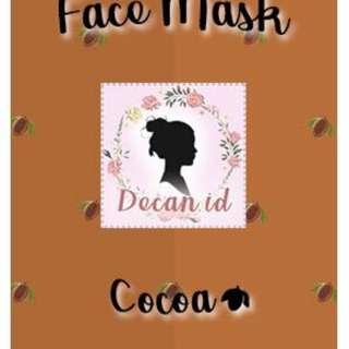 Masker wajah Coklat