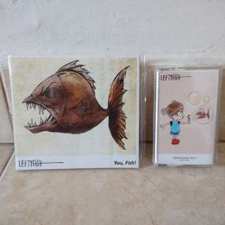 CD & Kaset sepaket Leftyfish original