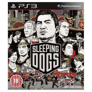 PS3 Sleeping Dogs
