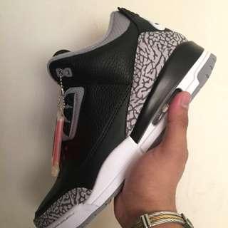 Jordan 3 Black Cement 2018