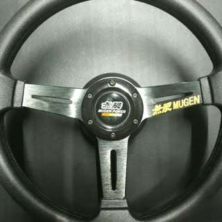 "Mugen 13"" Steering with Boss Kit (Adapter)"
