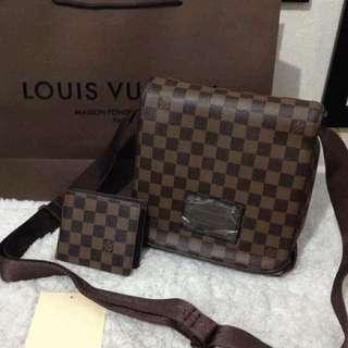 Lv sling bag for men