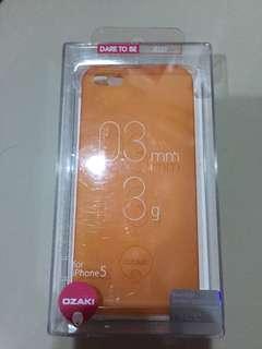 Ozaki Softcase Iphone 5S Orange