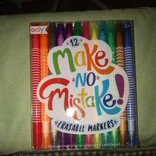 OOLY - Colourful Erasable Markers