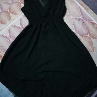Sexy Black Elegant Dress S-Msize