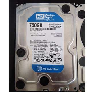 Western Digital Caviar Blue 7200RPM 750GB